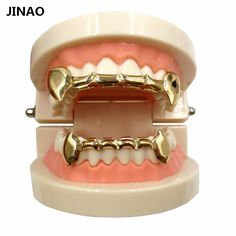 Introducing,   JINAO New Jewelry...   http://www.zxeus.com/products/jinao-new-jewelry-sets-custom-fit-gold-color-plated-hip-hop-teeth-grills-caps-top-bottom-grill-slim-half-grillz-set-ship-from-us?utm_campaign=social_autopilot&utm_source=pin&utm_medium=pin