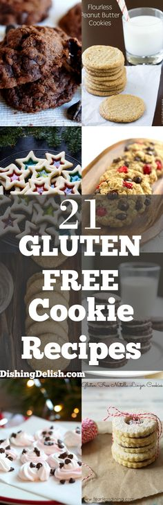 Click this pin to get the recipes! Repin to save for later!  Love Christmas cookies, but now sure what to make? Don't worry, I've got you covered. Here's a list of the top gluten free cookie recipes that are perfect for your Christmas get-together this year. So sit back, relax and let me do the recipe searching for you.