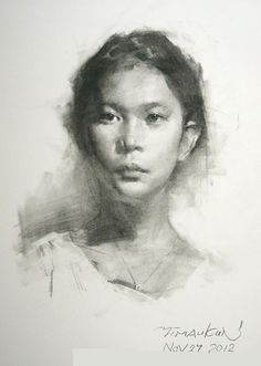 Drawing by Ran Maoqin - How To Draw Library