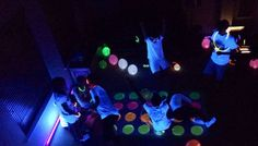 glow in the dark Birthday Party Ideas | Photo 1 of 6 | Catch My Party