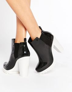 Melissa | Melissa Soldier Heeled Chelsea Boots at ASOS