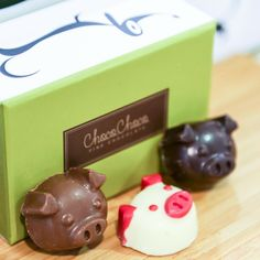 .@Harbour City | Have a bite of the sweetest three little pigs (rice crispy, green apple jelly... | Webstagram