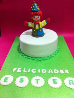 Tarta personalizada con gimboree elaborada por TheCakeProject en Madrid
