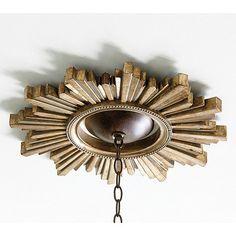 Sunburst Ceiling Medallion.  Ballard Designs.  $79