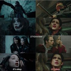 "#TeenWolf 3x23|6x13 - ""It's Okay."" - #ScottMcCall #AllisonArgent #MaliaTate #LiamDunbar #KiraYukimura #NoshikoYukimura"