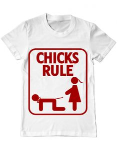 Tricou Tricou Chicks Rule Mens Tops, T Shirt, Design, Fashion, Supreme T Shirt, Moda, Tee Shirt, Fashion Styles, Design Comics