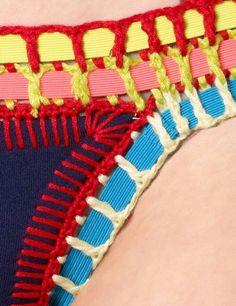 Resultado de imagem para os meus pins de biquinis de croche