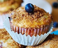 Easy Blueberry Muffins by JuliasAlbum.com, via Flickr