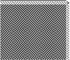 4 shaft twill.......love this patterning!