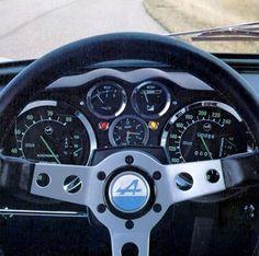 Renault Alpine A110 (poste de conduite)