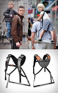 """Piggyback Rider - """"nuff said"""" - dads Our Baby, Baby Love, Cute Babies, Baby Kids, Baby Life Hacks, Baby Gadgets, Future Mom, Cool Baby Stuff, Baby Accessories"""