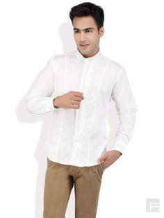 MONTEIL AND MUNERO // Mandarin Collar Shirt