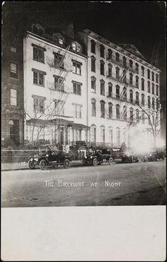Jessie Tarbox Beals The Brevoort at Night DATE:1905 - 1920