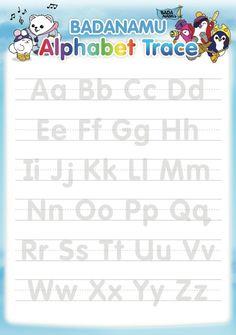 Alphabet Tracing.