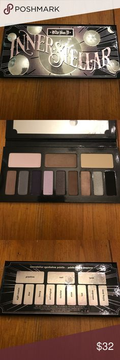 "Kat Von D Innerstellar Palette Used a few times but only the neutral shades. I used the shade ""3am"" most. Some of the shades have never been touched. Good condition! Kat Von D Makeup Eyeshadow"