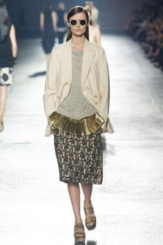 Dries Van Noten Spring 2014 RTW - Runway Photos - Fashion Week - Runway, Fashion Shows and Collections - Vogue