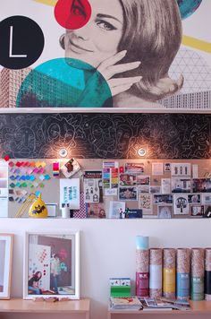 Offices of BLIK - Removable wall decal company.