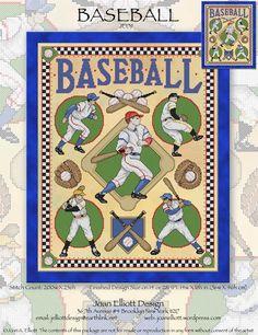 Baseball - Cross Stitch Pattern