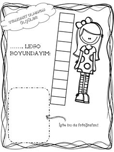 STANDART OLMAYAN ÖLÇÜ Reggio, Math For Kids, Crafts For Kids, Literacy Activities, Classroom Decor, Sunday School, Blog, Coloring Pages, Homeschool