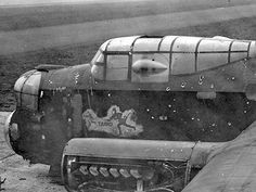 Damaged Raf Lancaster