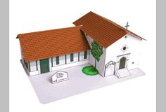 Mission San Rafael.  Have a California Mission project due? Our California Mission Paper Models is the perfect solution for your California history mission project. This model can be immediately downloaded for you to print on your printer or you can purchase a printed kit to be mailed to you.