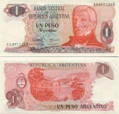 Peso Argentino 1985