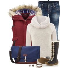 2015 Casual Outfit Idea for Winter