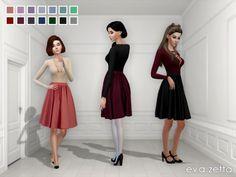 Eva Zetta's Elizabeth Skirt Recolor - Mesh needed