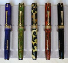 Wahl-Eversharp Oversize Decoband pens. #fountainpens