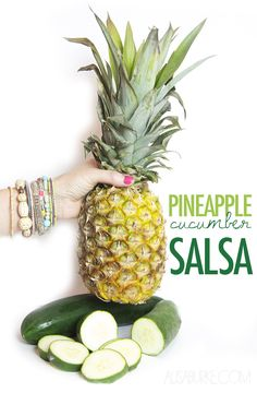 pineapple cucumber salsa