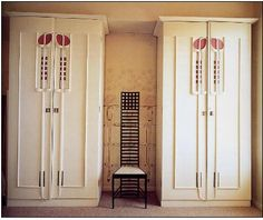 Charles Rennie Mackintosh. The best designed chair in the World......but not the most comfortable !................Anix