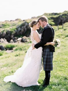 Visiting Scotland is currently item #1 on my must-travel list, so when this darling wedding from Victoria Phippscame along, I nearly squealed out loud. Held at a quiet countryside church followed by a whiskey distillery reception, it's basically everything you'd think a Scottish wedding should be, plus a whole lot more. From rich, green scenery […]