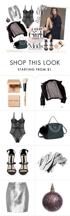"""Celebrities- Gigi"" by katiesdelight ❤ liked on Polyvore featuring Bobbi Brown Cosmetics, IRO, L'Agent By Agent Provocateur, Forever New, Yves Saint Laurent and Marc Jacobs"