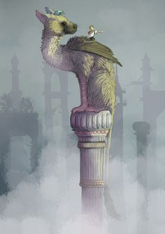 The last guardian by bruncikara.deviantart.com on @DeviantArt