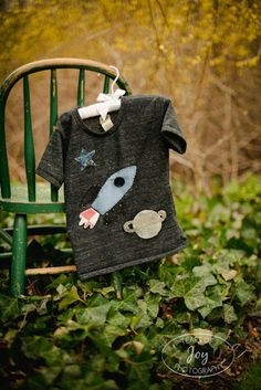 Boys Tee Organic Shirt Blend Rocket Tee Space