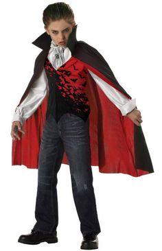 Adult Mens Vampire Dracula Costume Nosferatu Horror Fancy Dress Halloween Fester