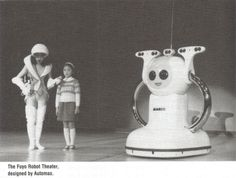 Marco and the Fuyo Robot Theater at the 1985 International Exposition in Tsukuba, Japan.