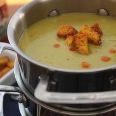 Emeril's Split Pea Soup is an absolute classic. Make a big batch and put some up for later.