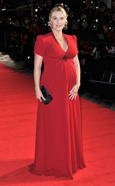 OK, we're convinced! Kate Winslet is the most gorgeous pregnant woman ever!