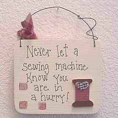 trendy sewing quotes sayings thoughts truths Sewing Spaces, Sewing Rooms, Quilting Room, Quilting Tips, Quilt Hangers, Sewing Humor, Quilting Quotes, Sewing Quotes, Sewing Room Decor
