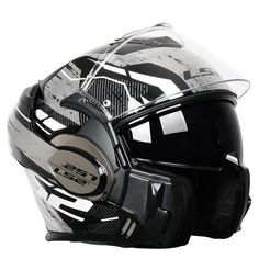 LS2 FF399 DOUBLE LENS MODULAR MOTORCYCLE HELMETS