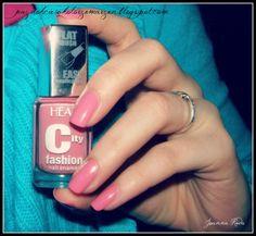 Paznokcie w kolorze marzeń: City Fashion #177 (Hean)