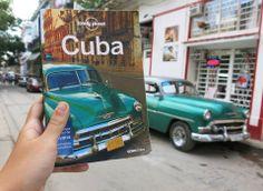Lonely Planet em Havana.