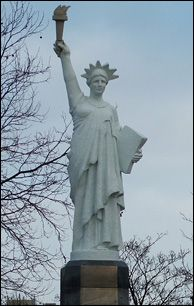 Liberty Statue. Leicester