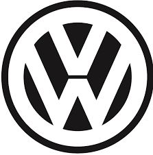 """Volkswagen - Founded: Founder: German Labour Front & Adolf Hitler. The Volkswagen logo comprises of the company's initials – a """"V"""" placed over a """"W"""". Vw Logo, Volkswagen Logo, Stickers, Sticker Auto, Car Decals, Vw Emblem, Popular Logos, Car Logos, Vw T1"""