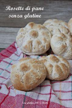 Rosette di pane fatte in casa senza glutine , facili e veloci da preparare . Croccanti fuori e morbide dentro . Scopri la ricetta :