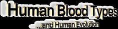 Human Blood Types and Human Evolution