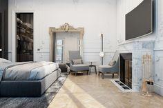 Exquisite flat in Paris by Diff Studio - MyHouseIdea