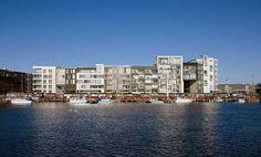 Sluseholmen, the housing block Fyrholm C.F. Møller. Photo: Torben Eskerod