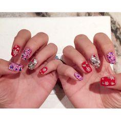 #mynails #nailart #japanesenaildesign Japanese Nail Design, Yours Truly, My Nails, Class Ring, Nailart, Beauty, Jewelry, Jewlery, Jewerly